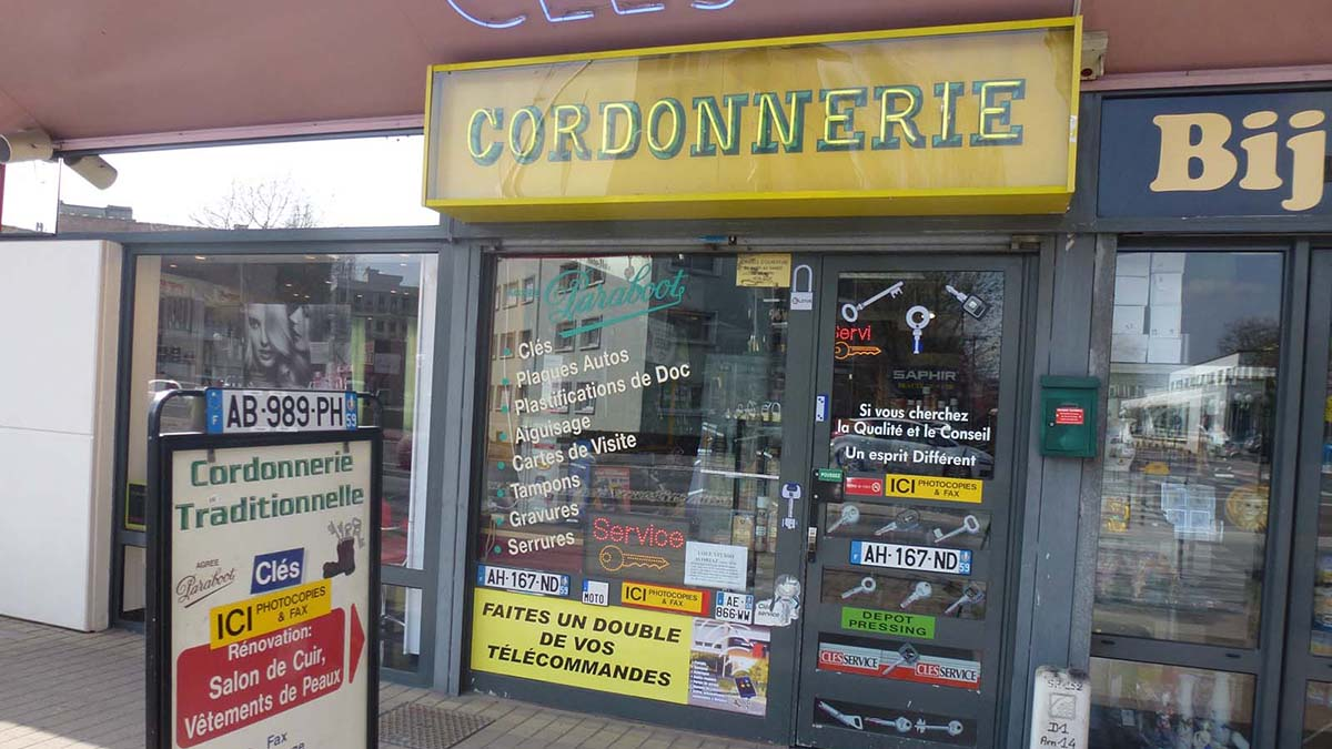 CORDONNERIE TRADITIONNELLE MAUBEUGE 01